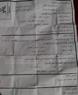 """تجميع امتحانات   للصف الرابع الإبتدائى """"الفعلى """" لغة عربية  إدارات ترم أول لتدريب عليها 82095980_2630881300477201_8941626945355907072_n"""