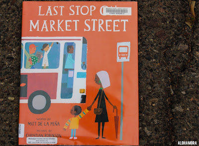 Last Stop of Market Street by Matt de La Pena won quite the book awards this year.  This picture book, which toddlers up to 3rd grade can enjoy, won a Caldecott Honor (aka runner up for best pictures) and the Newbery Medal (aka best written story for kids).  Usually chapter books win the Newbery, but not this year.  This book is great; It earned 4.5 stars in my book review, service, helping others, lesson. Alohamora Open a Book www.alohamoraopenabook.bloggspot.com