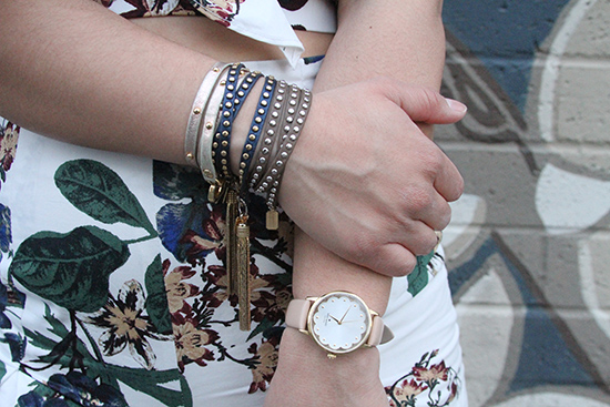 Leather Wrap Tassel Bracelets and Kate Spade Metro Watch | Will Bake for Shoes
