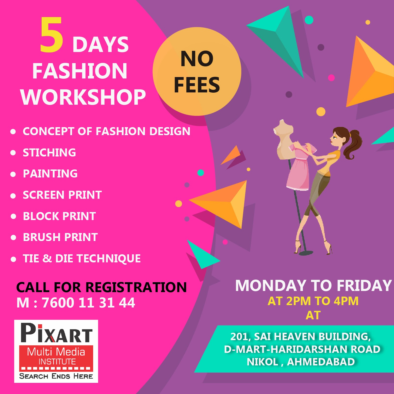 Fashion Designing Academy In Ahmedabad