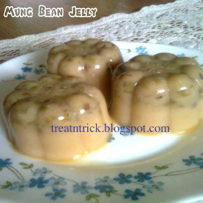 Mung Bean Jelly Recipe @ treatntrick.blogspot.com
