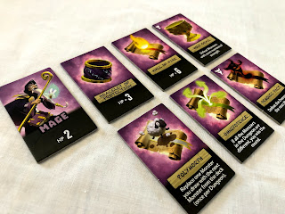 The mage tokens from Welcome to the Dungeon.