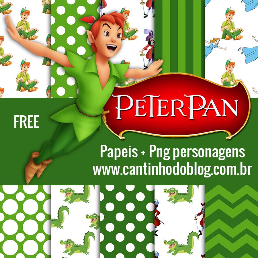 Kit Digital Peter Pan Gratis Para Baixar Cantinho Do Blog