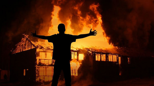 pembakar rumah di tanjungpinang ditangkap