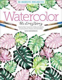 1bookcover - Freeform Friday: Watercolor the Easy Way - Sara Berrenson + A GIVEAWAY
