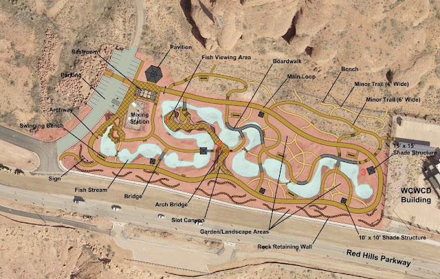 Map of Red Hills Desert Garden