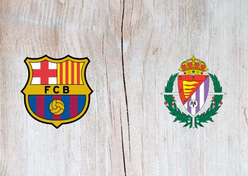 Barcelona vs Real Valladolid -Highlights 05 April 2021