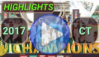 ICC Champions Trophy 2017 Video Highlights