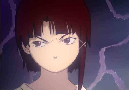 Gambar karakter anime wanita tercantik - Lain iwakura (Serial Experiment Lain)