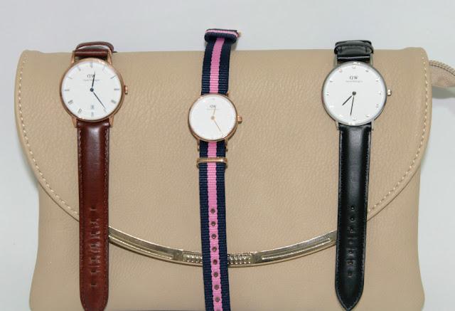 Mi colección de relojes Daniel Wellington