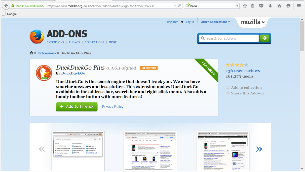The Joobik Blog: How to fix: Mozilla Firefox opens Bing instead of