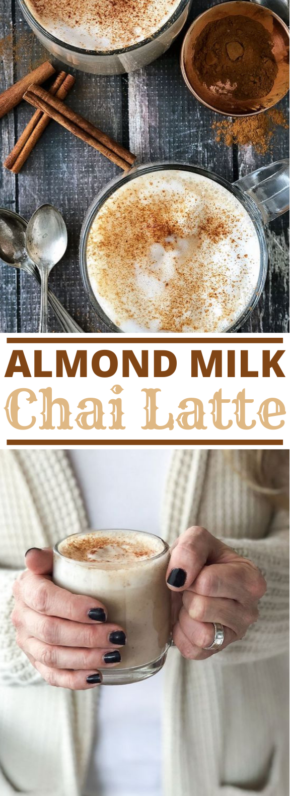 Almond Milk Chai Latte #drinks #recipes #latte #warm #beverages