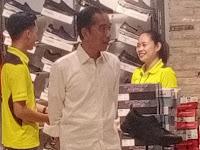 Presiden Jokowi Ajak Cucu ke Mall Solo, Usai Kunjungan di Jogja