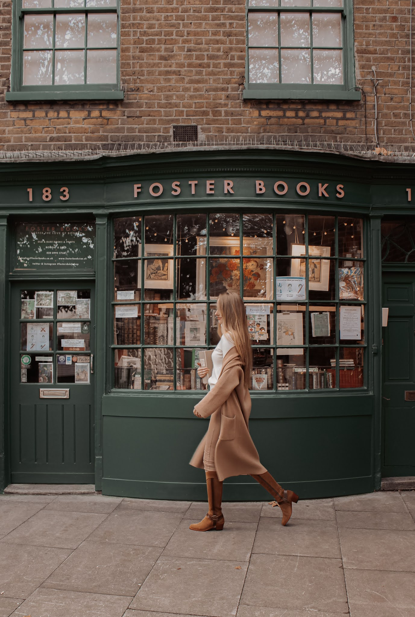 Foster Books Chiswick Shop London