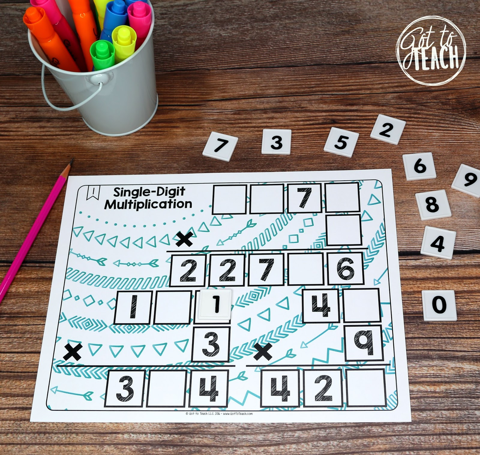 Math Tiles My Favorite Math Activity Teacher Thrive