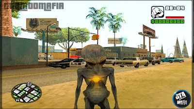 GTA San Andreas Alien Mod With Powers Download