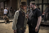 Martin Koolhaven and Paul Anderson on the set of Brimstone (18)