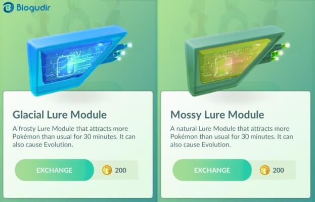 Cara Evolusi Eevee ke Berbagai Tipe Perubahan di Pokemon GO - Evolusi Eevee dengan Lure Module