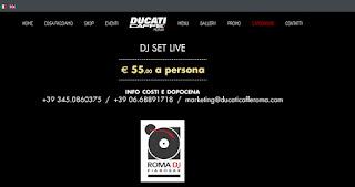 Ducati Caffe Rome Djset Live Romadjpianobar