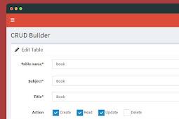myIgniter - Source Code Aplikasi Untuk Admin Dan Crud Generator