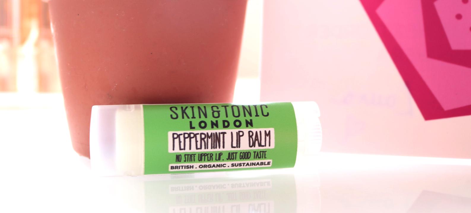 Skin & Tonic Lip Balm in Peppermint