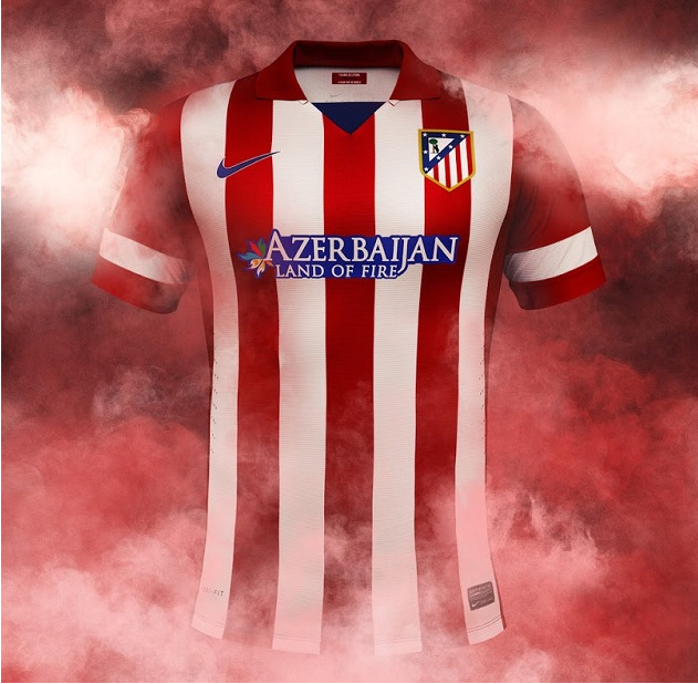 ba06a9ca0fbc8 Venta nueva camisetas de atletico madrid manga larga 2013-2014 primera  equipacion