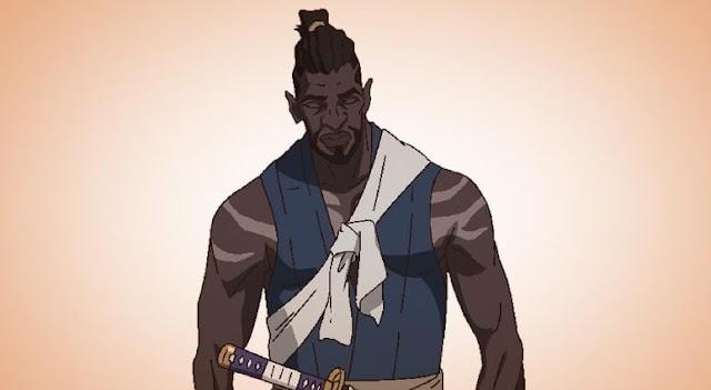 Netflix anuncia anime sobre Yasuke, o primeiro samurai africano