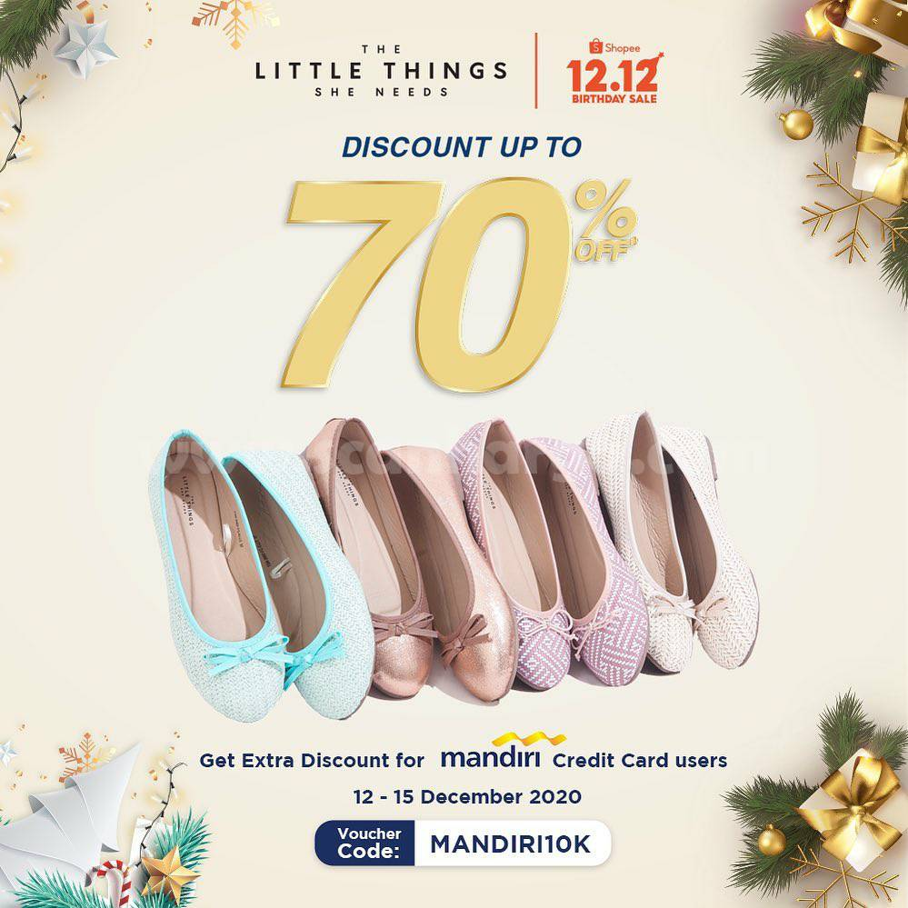 Promo The Little Things She Needs Shopee 12.12 – Disc. up to 70% Off