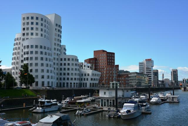 Medienhafen Dusseldorf Gehry