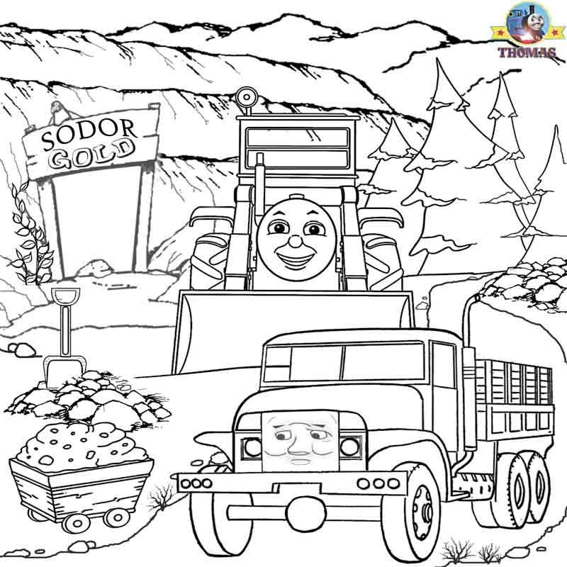 Thomas The Tank Engine Blue Mountain Toys, Thomas, Free