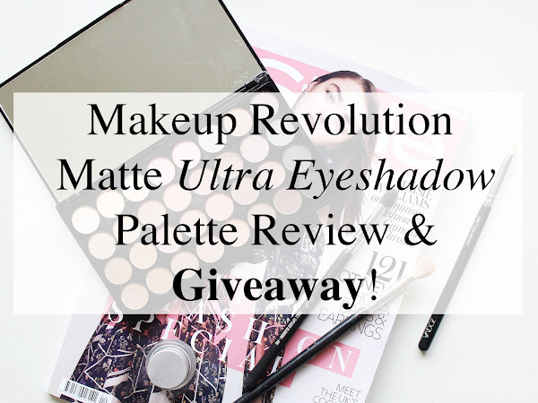 Makeup Revolution Eyeshadows Review + GIVEAWAY