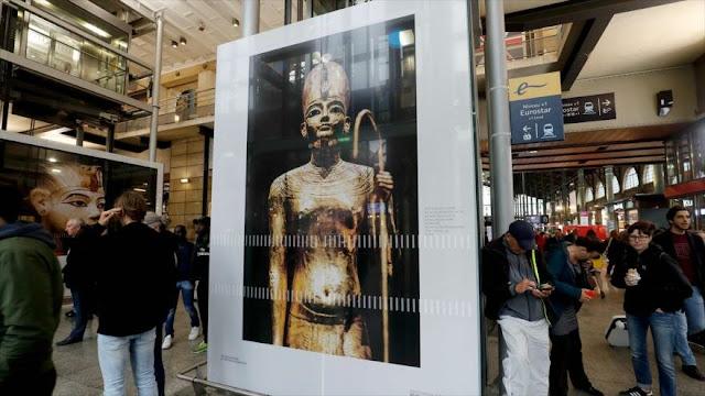 """Subasta de una pieza """"robada"""" en Londres enfurece a Egipto"""