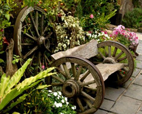 Gartendeko Aus Altem Holz