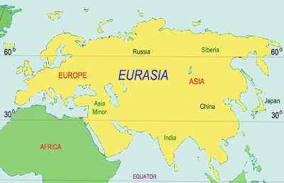 Geografi Eurasia, Gabungan Asia dan Eropa