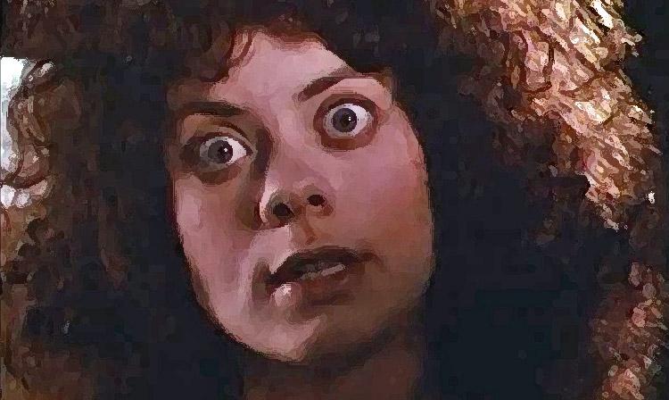 Myriam Cyr in GOTHIC (1986). Quelle: MGM DVD