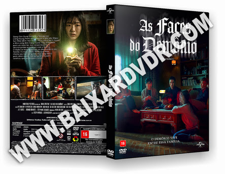 As Faces do Demônio (2021) DVD-R AUTORADO