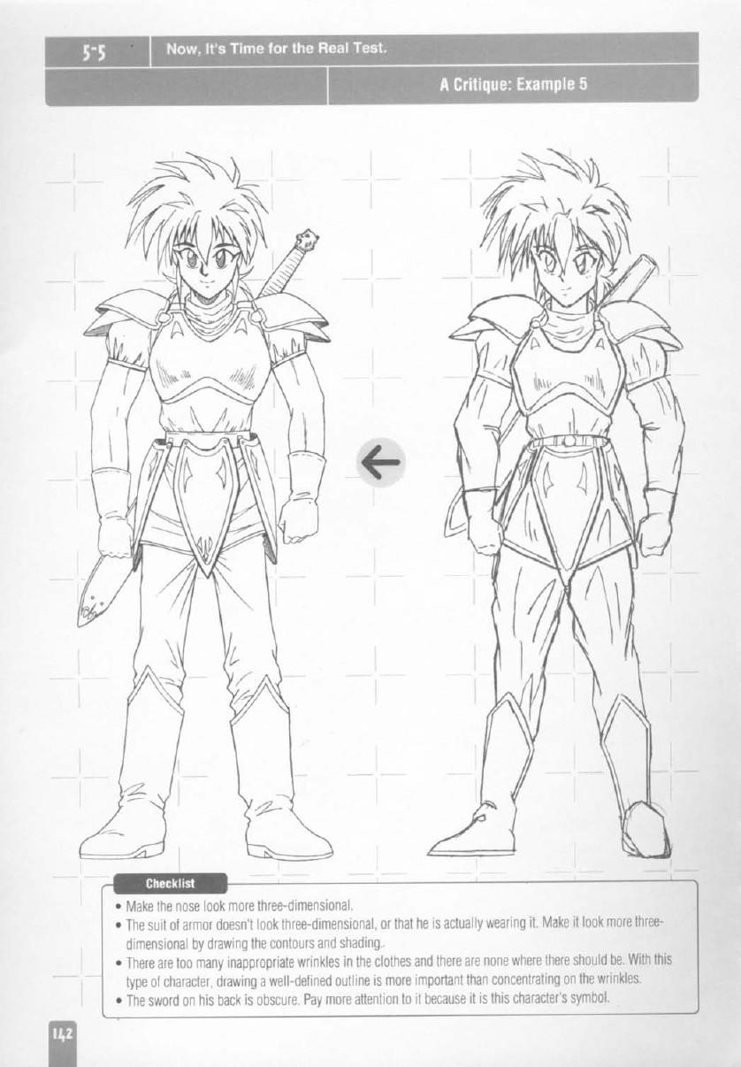 Database Manga: Manual- Como dibujar personajes de Animes