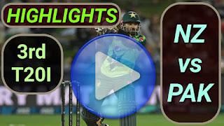 NZ vs PAK 3rd T20I 2020
