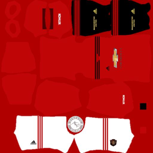 Kits CLB Manchester United 2019 - 2020 Dream League Soccer 2021