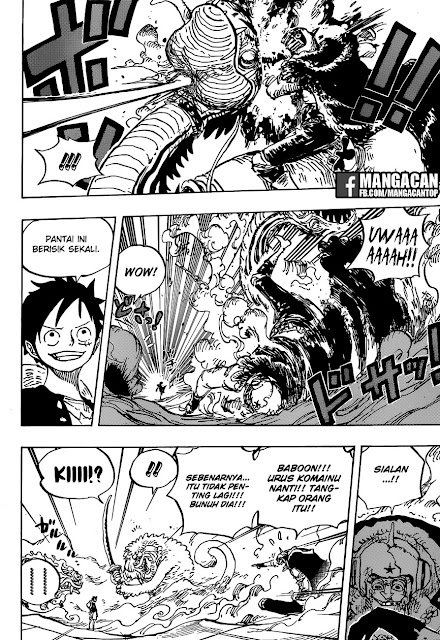 One Piece Chapter 911 Bahasa Indonesia