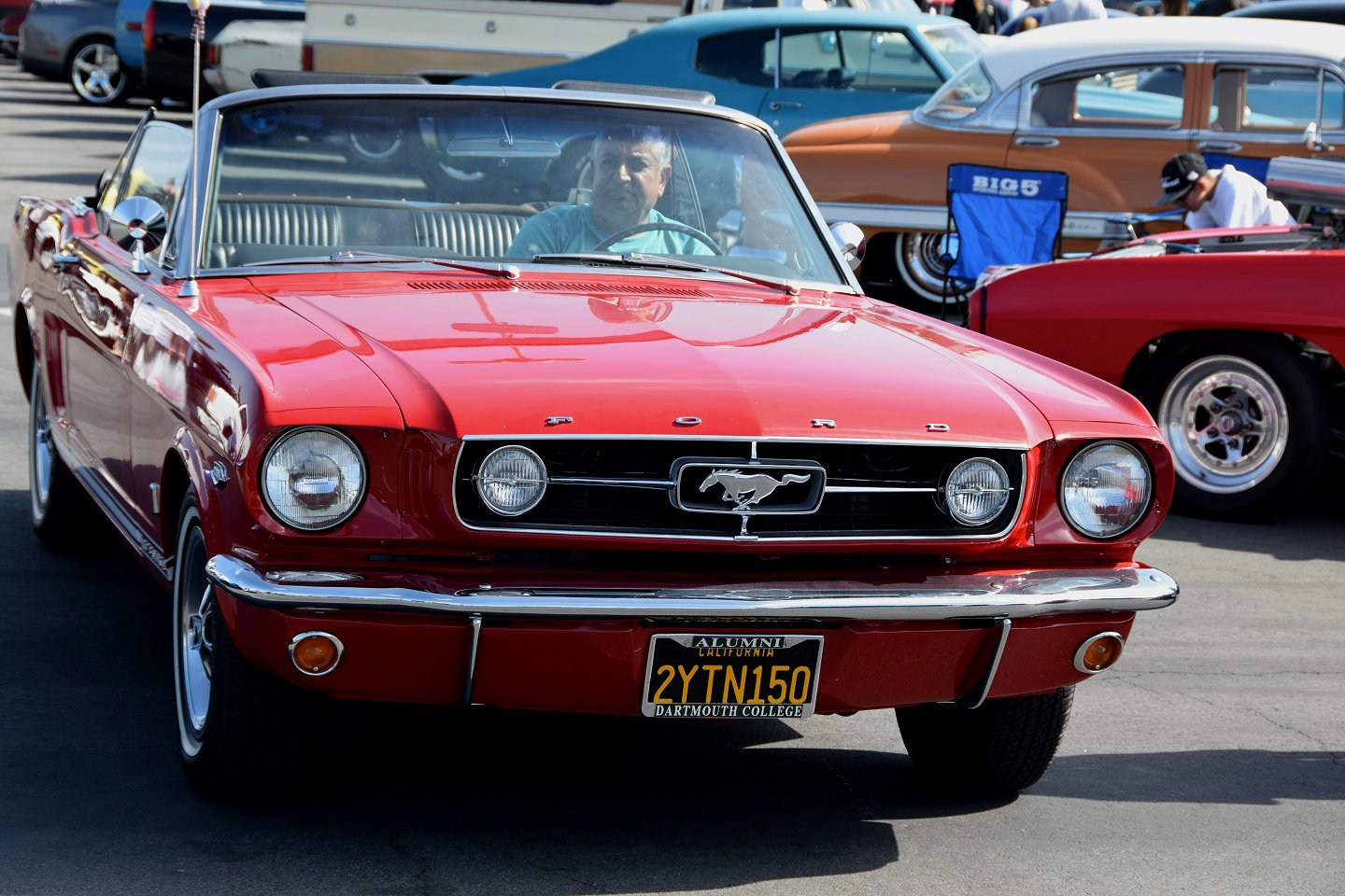 A great mustang convertible in the correct specs a true classic and an exciting car to drive