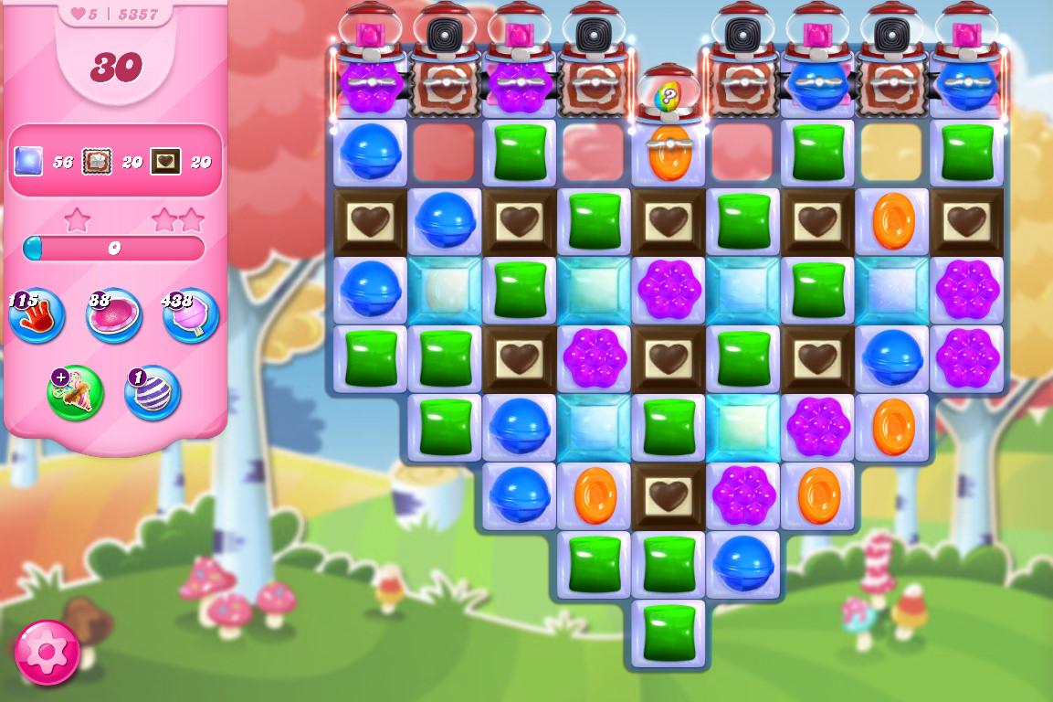 Candy Crush Saga level 5357