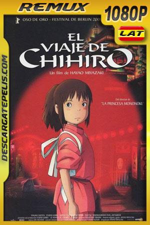 El viaje de Chihiro (2001) 1080p BDRemux Latino – Ingles