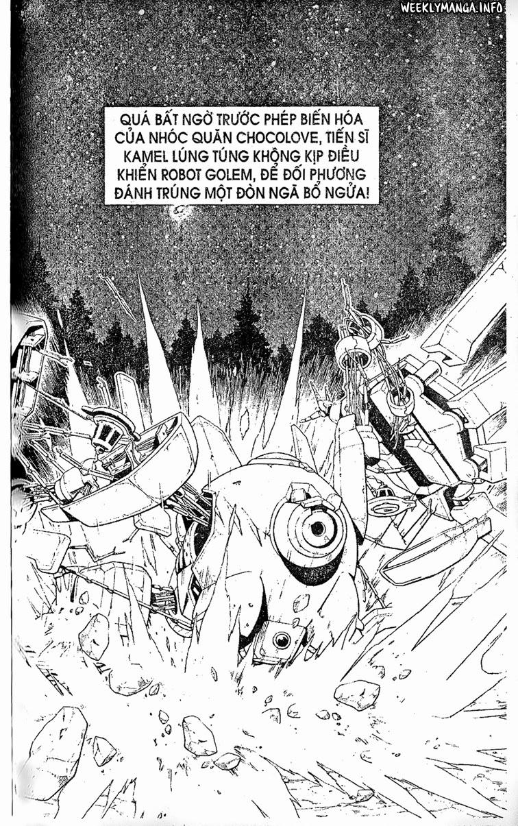 Shaman King [Vua pháp thuật] chap 206 trang 4