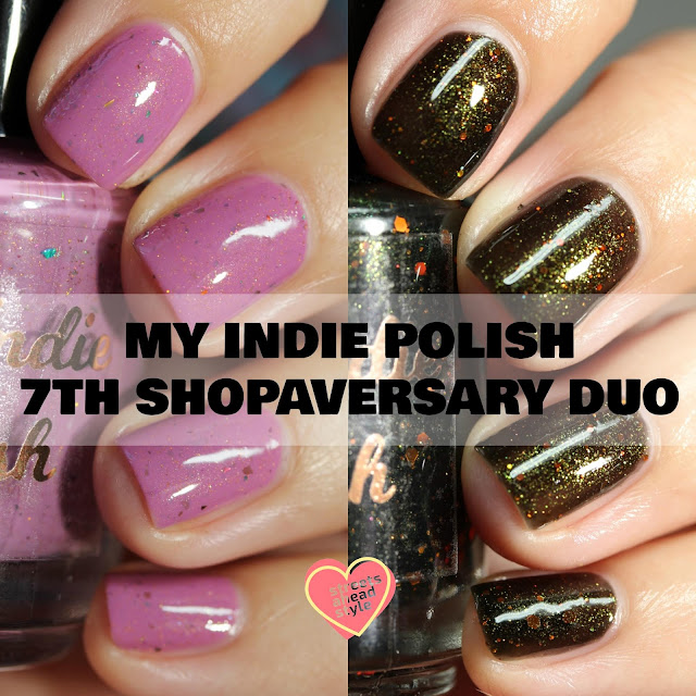 My Indie Polish 7th Shopaversary Duo