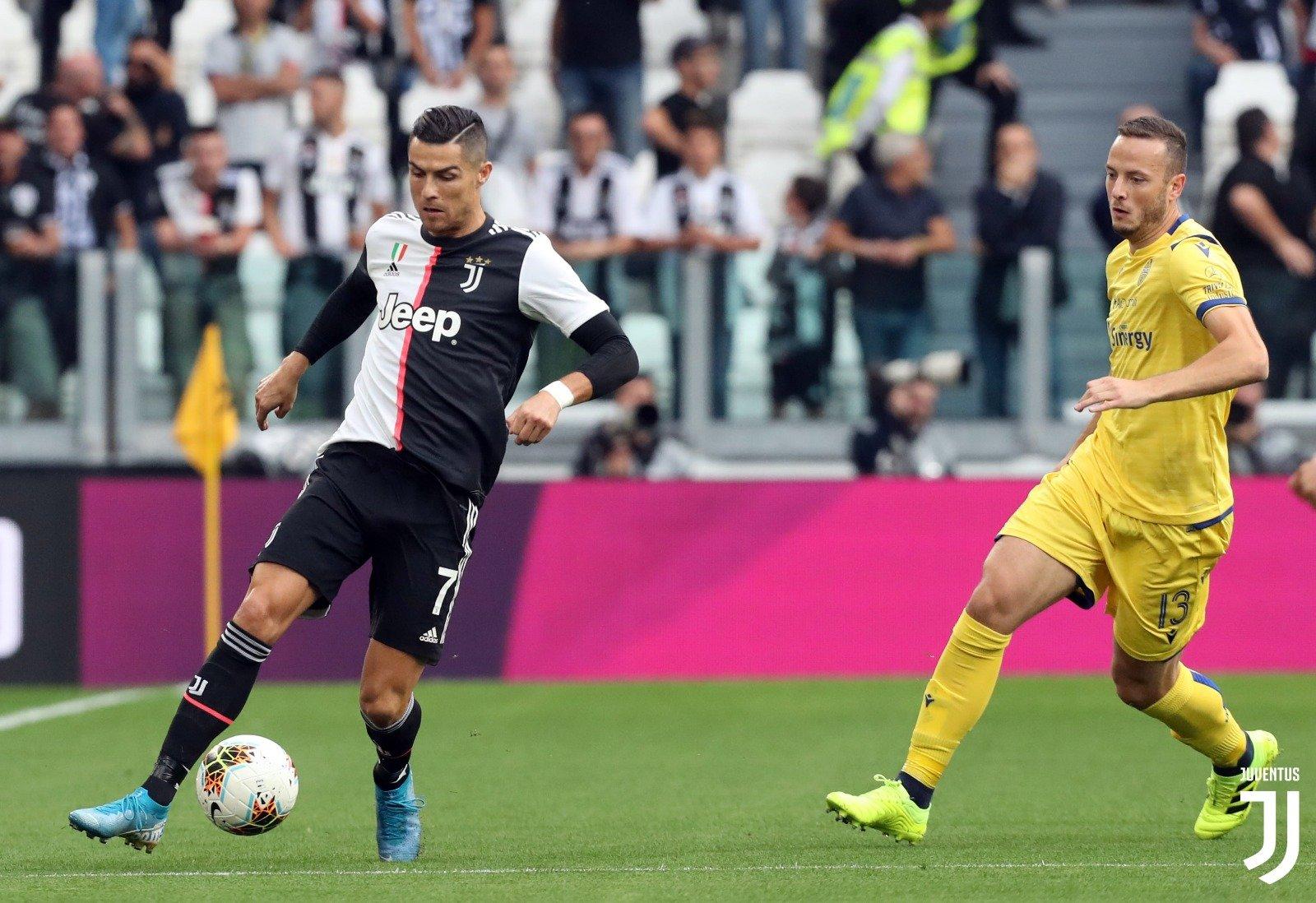 نتيجة مباراة هيلاس فيرونا ويوفنتوس بتاريخ 08-02-2020 الدوري الايطالي