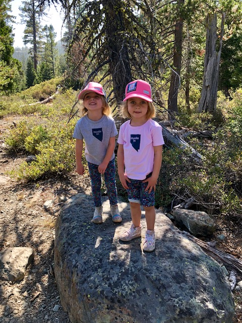 twins hiking