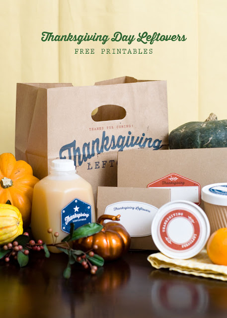 15 AWESOME Gratitude Filled THANKSGIVING DAY Ideas - LEFTOVER BAG