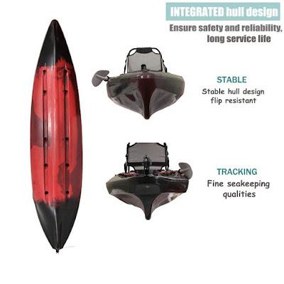 fishing kayak red
