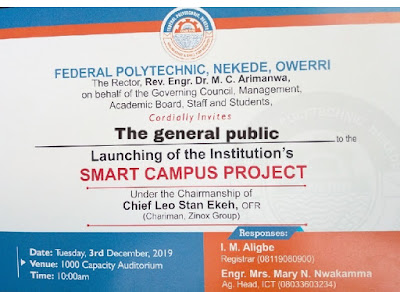 Nekede Poly 20th Convocation Ceremony Programme of Events 2019